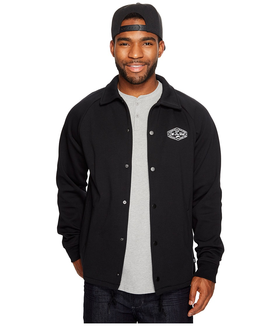 Vans - Torrey Fleece Jacket (Black) Men's Coat