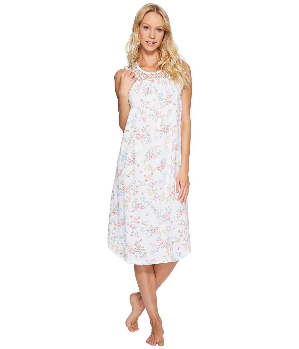 Carole Hochman - Sleeveless Ballet Gown (Bird Floral) Women's Pajama