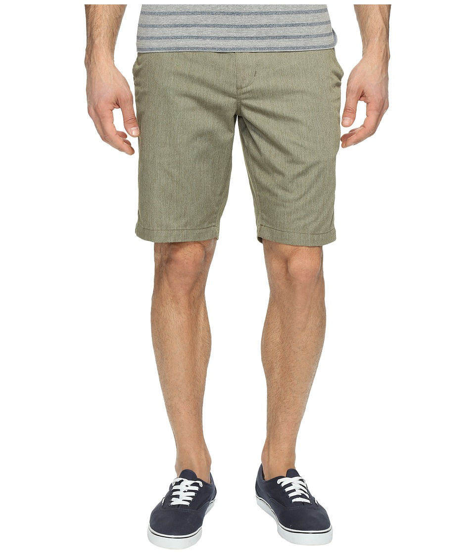 RVCA - The Week-End Shorts (Burnt Olive Heather) Men's Shorts