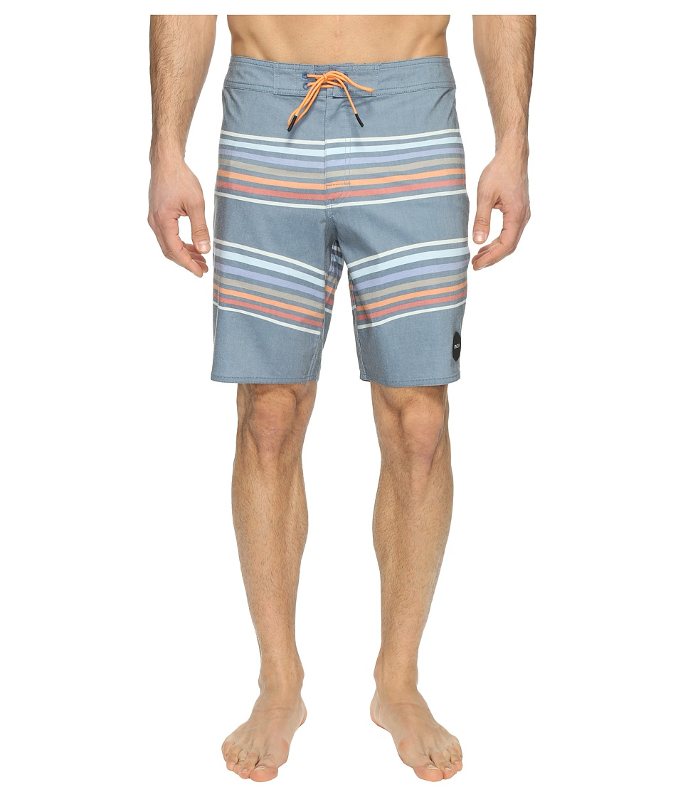 RVCA - Islands Trunk (Dark Blue) Men's Swimwear