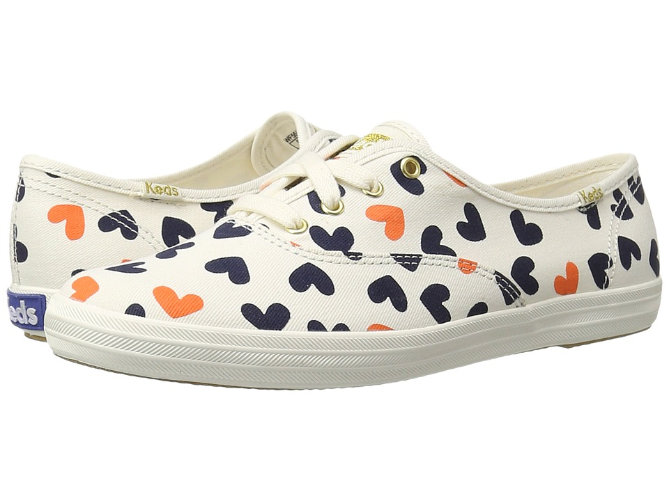 Keds - Champion Heart (Cream Multi) Women's Shoes