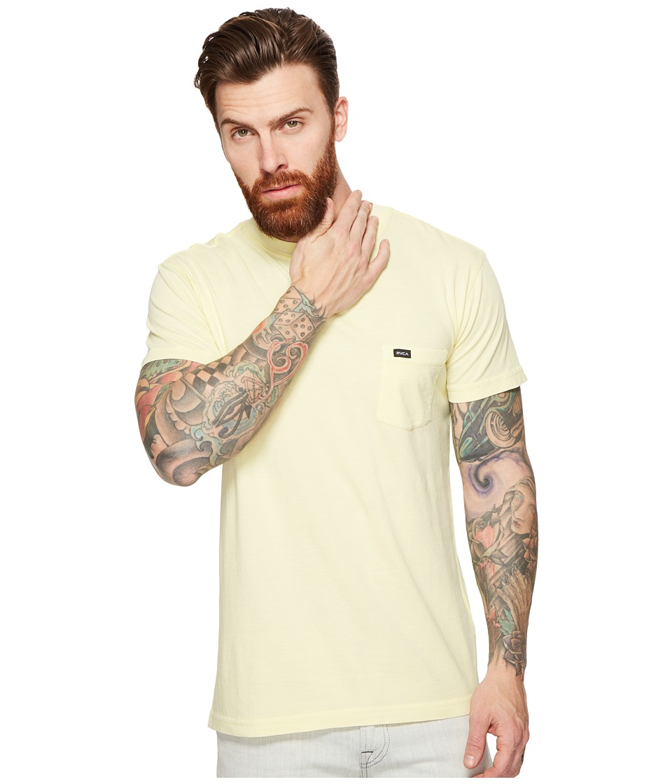 RVCA - PTC Fade Knit (Lemonade) Men's Clothing