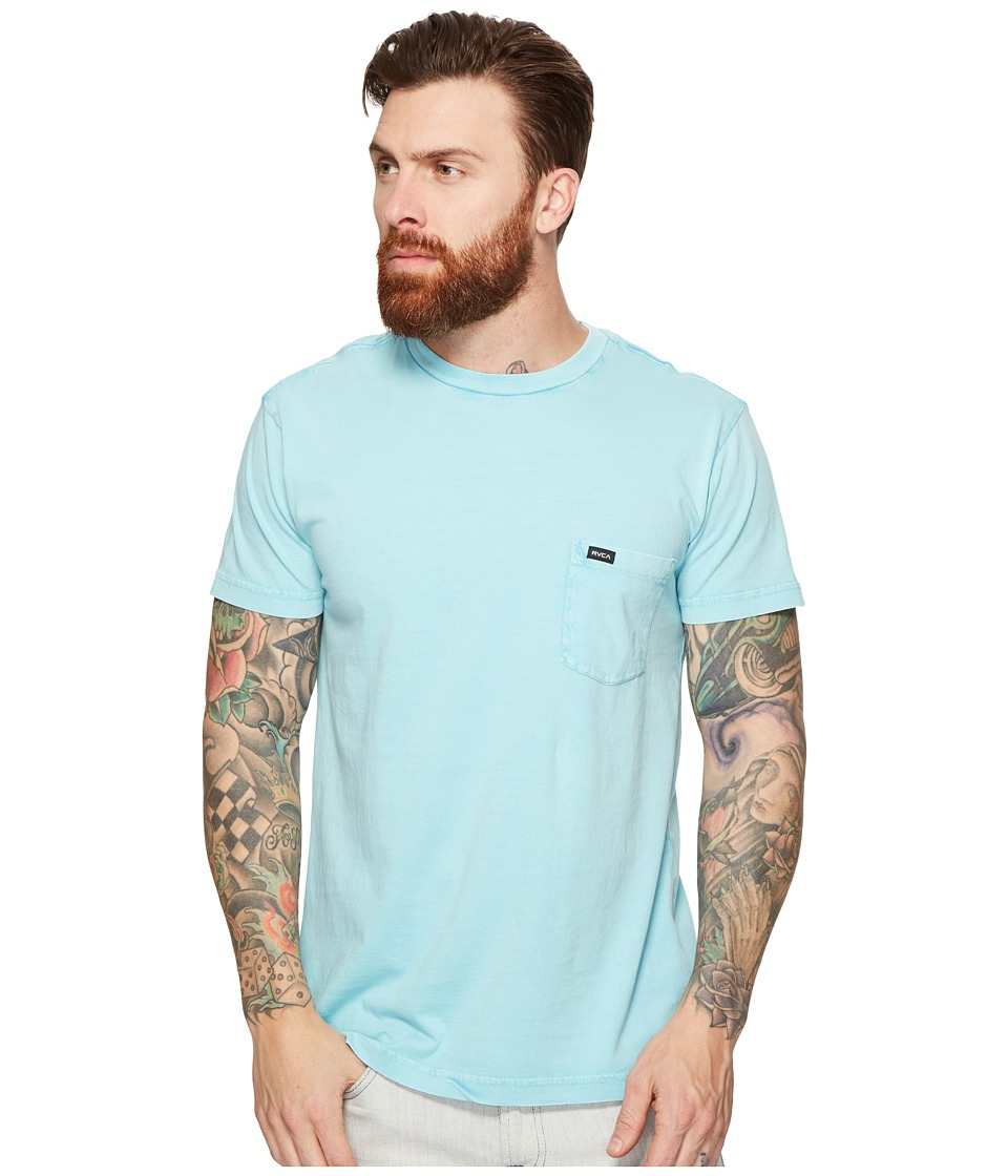 RVCA - PTC Fade Knit (Nile Blue) Men's Clothing