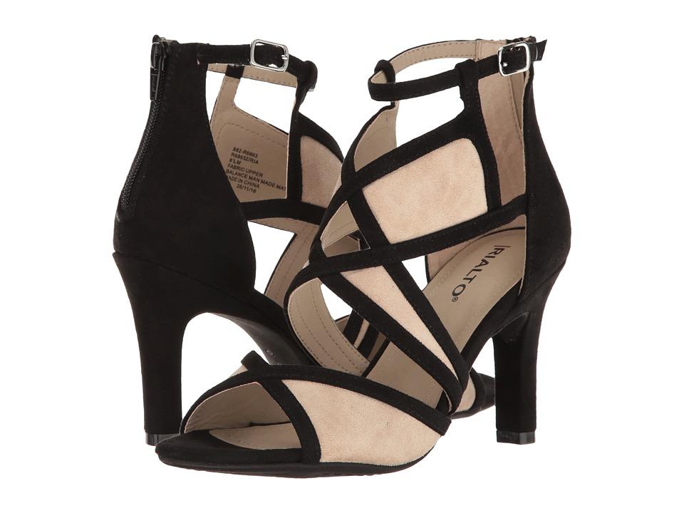Rialto - Ria (Black Suedette) Women's Shoes