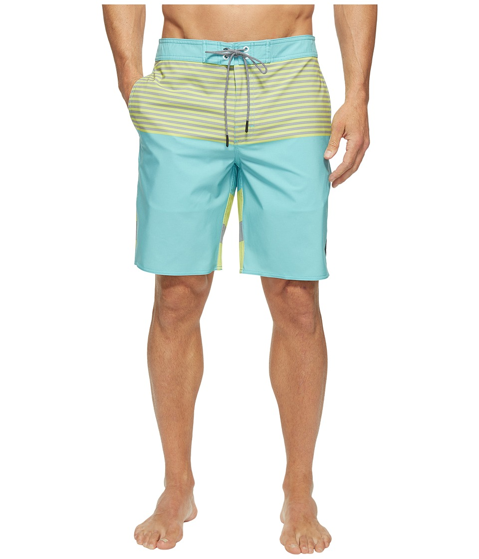 RVCA - Vice Tri Trunk (Nile Blue) Men's Swimwear
