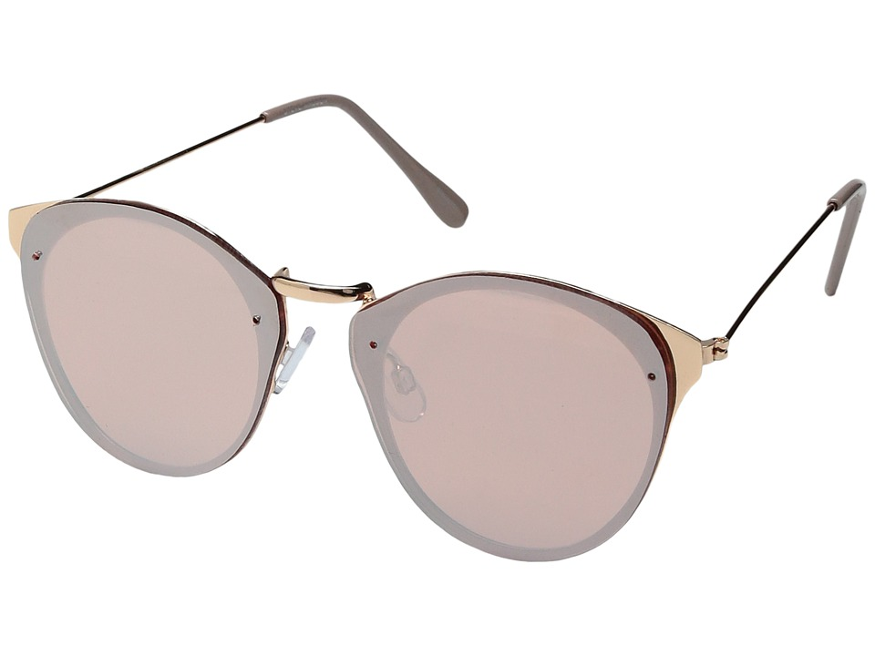 Steve Madden - Marigold (Rose Gold) Fashion Sunglasses
