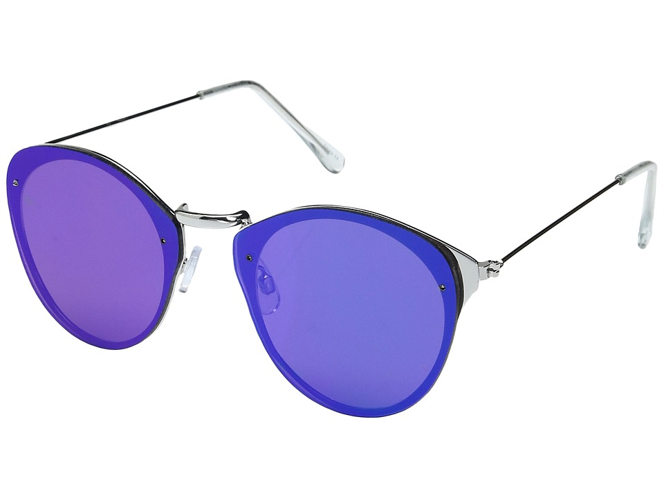 Steve Madden - Marigold (Blue) Fashion Sunglasses
