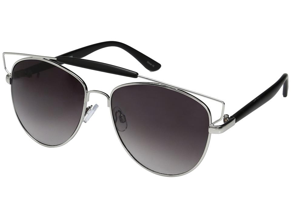 Steve Madden - Iris (Black) Fashion Sunglasses