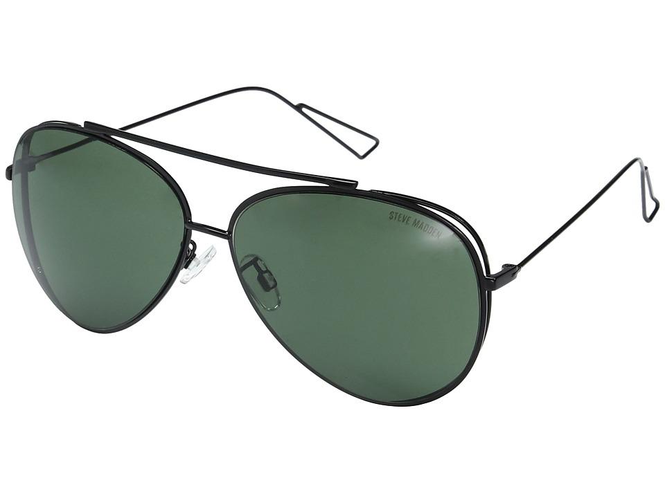 Steve Madden - Dahlia (Black) Fashion Sunglasses