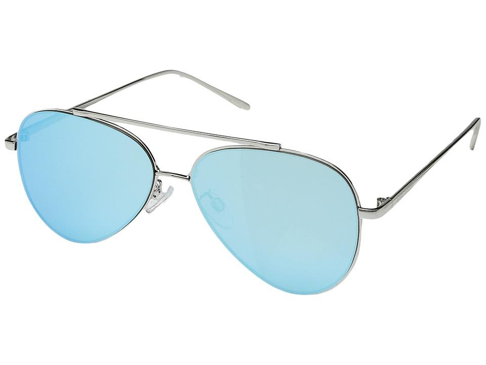 Steve Madden - Blossom (Blue) Fashion Sunglasses