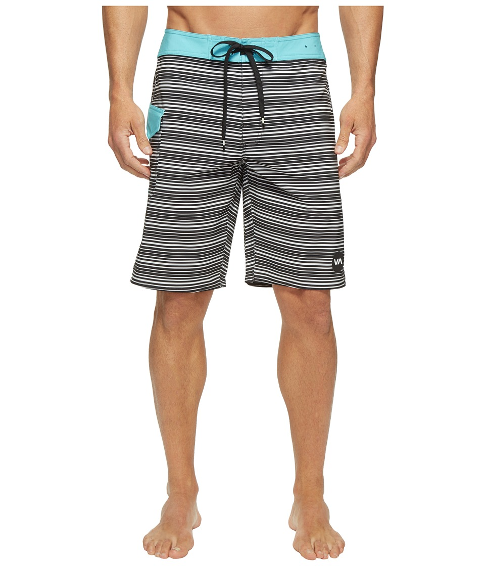 RVCA - Line O Sight Trunk (Black) Men's Swimwear