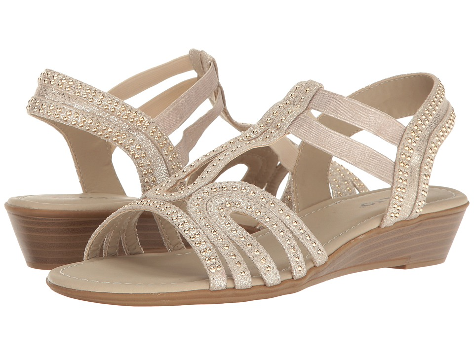 Rialto - Garnette (Champagne) Women's Shoes