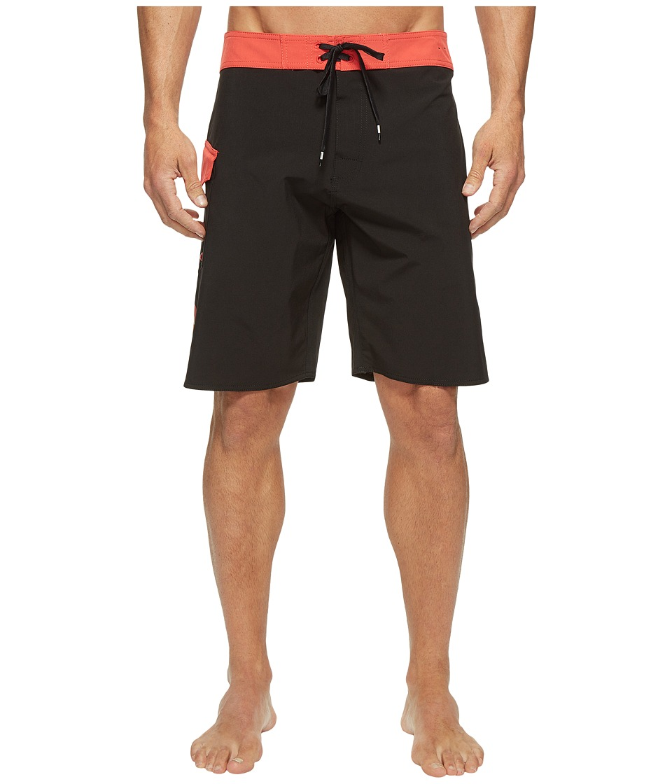 RVCA - Register 20 Boardshorts (Poppy Red) Men's Swimwear