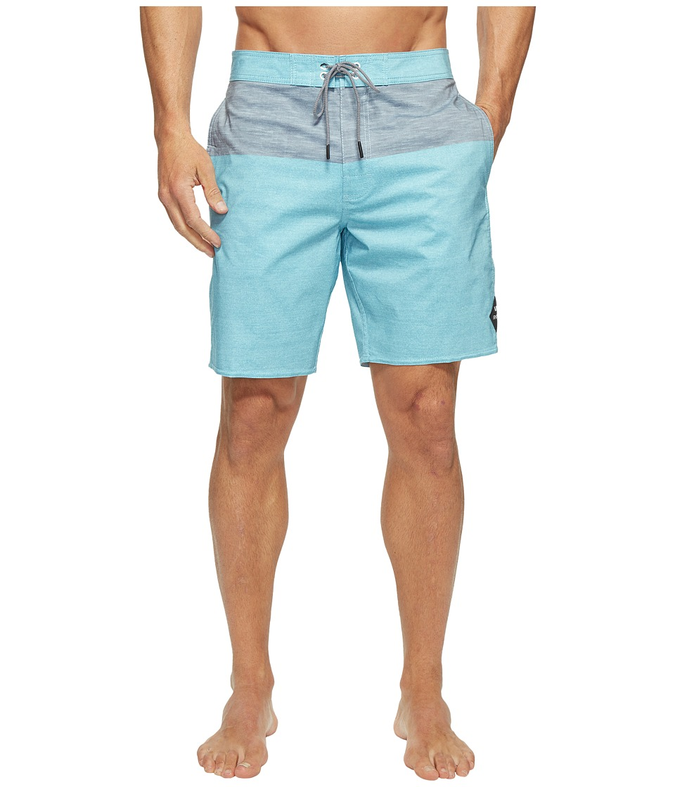 RVCA - Gothard Trunk (Maui Blue) Men's Swimwear