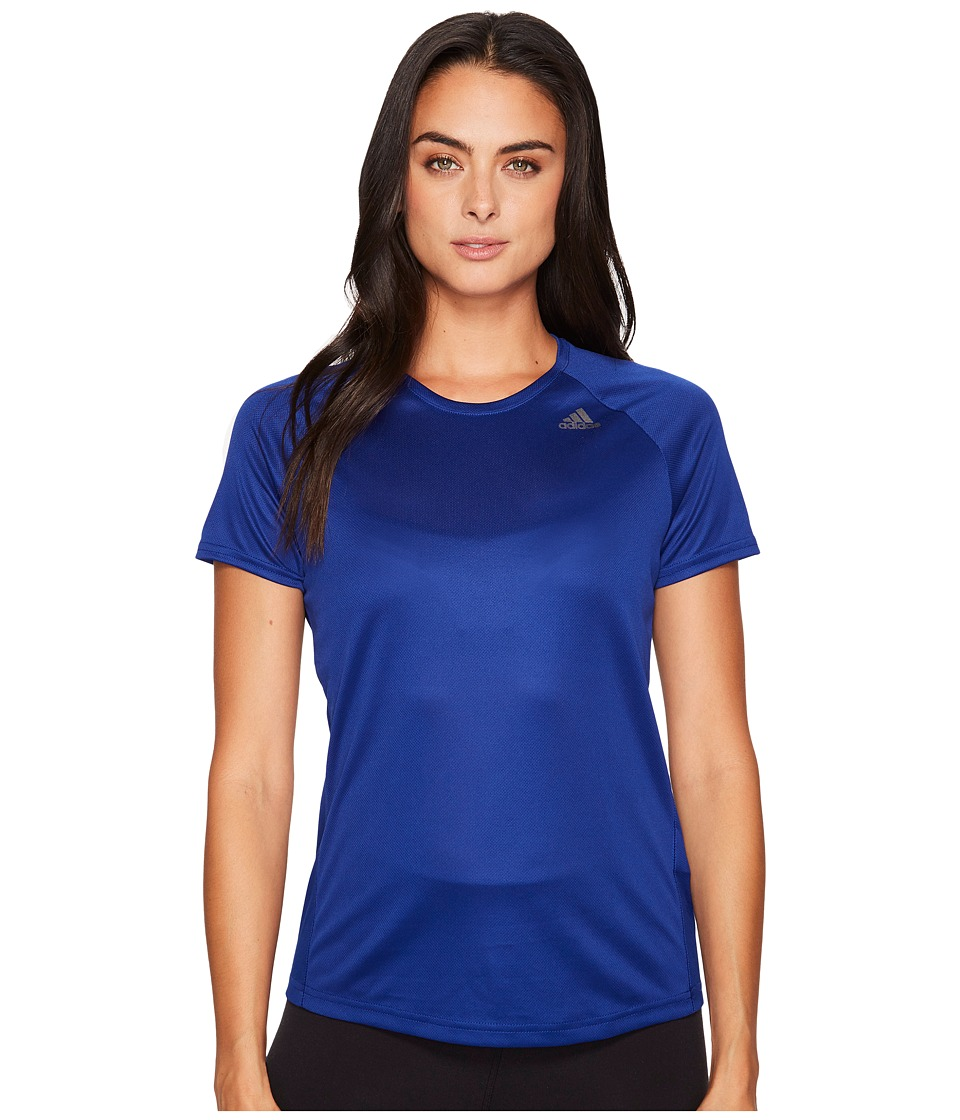 adidas - D2M Loose Tee (Mystery Ink F17) Women's T Shirt