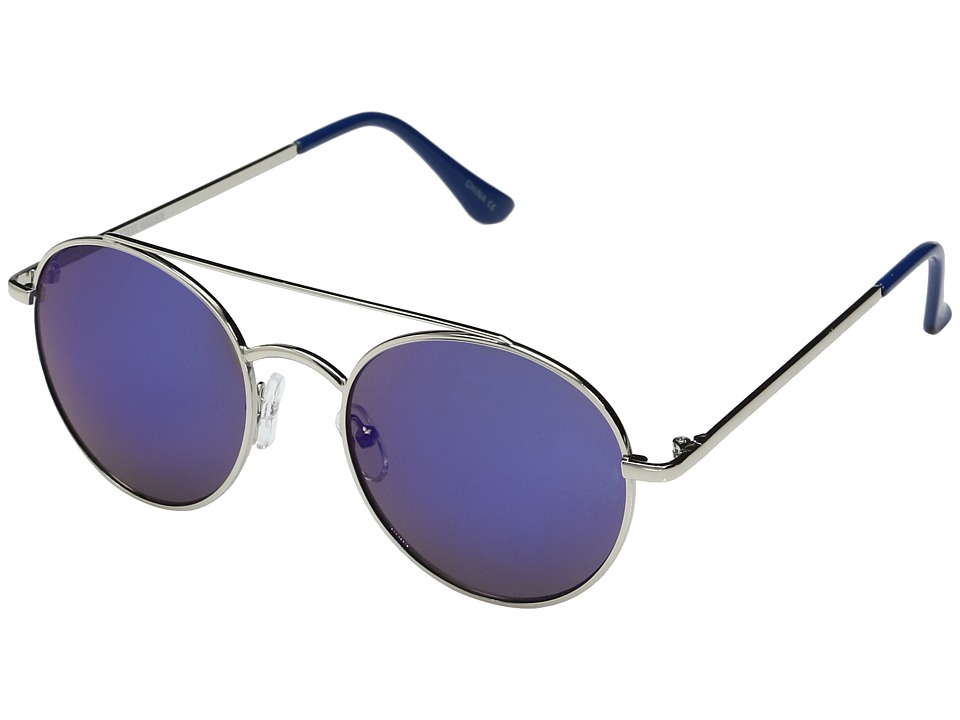Steve Madden - Pansy (Blue) Fashion Sunglasses
