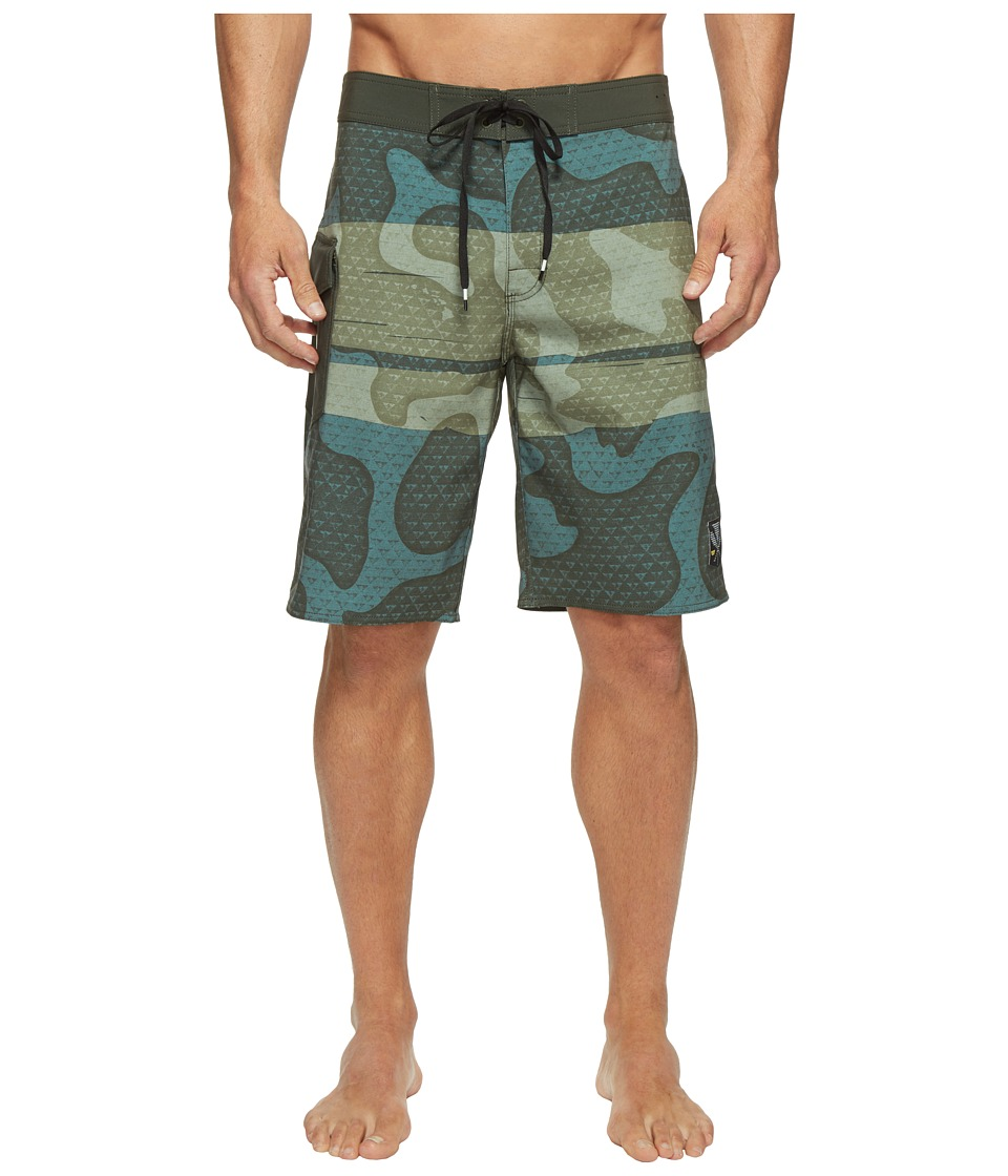 RVCA - Makua Trunk (Forest) Men's Swimwear