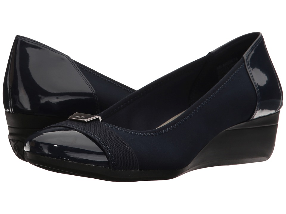 Anne Klein Birta (Navy Multi Fabric) Women