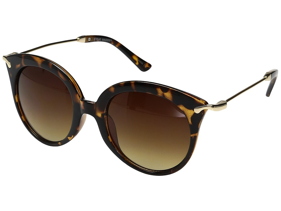Steve Madden - Marguerite (Tortoise) Fashion Sunglasses