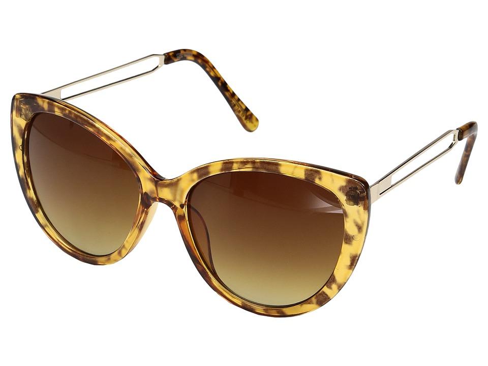 Steve Madden - Clover (Tortoise) Fashion Sunglasses
