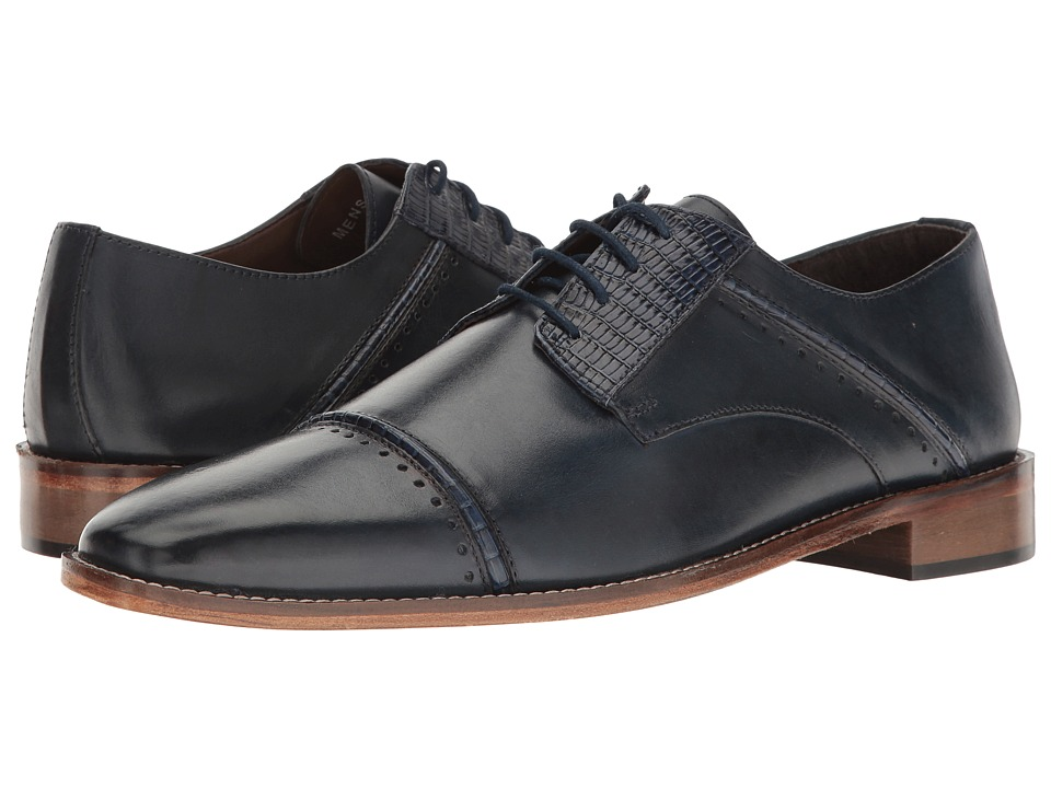 Stacy Adams - Ryland (Dark Blue) Men's Shoes