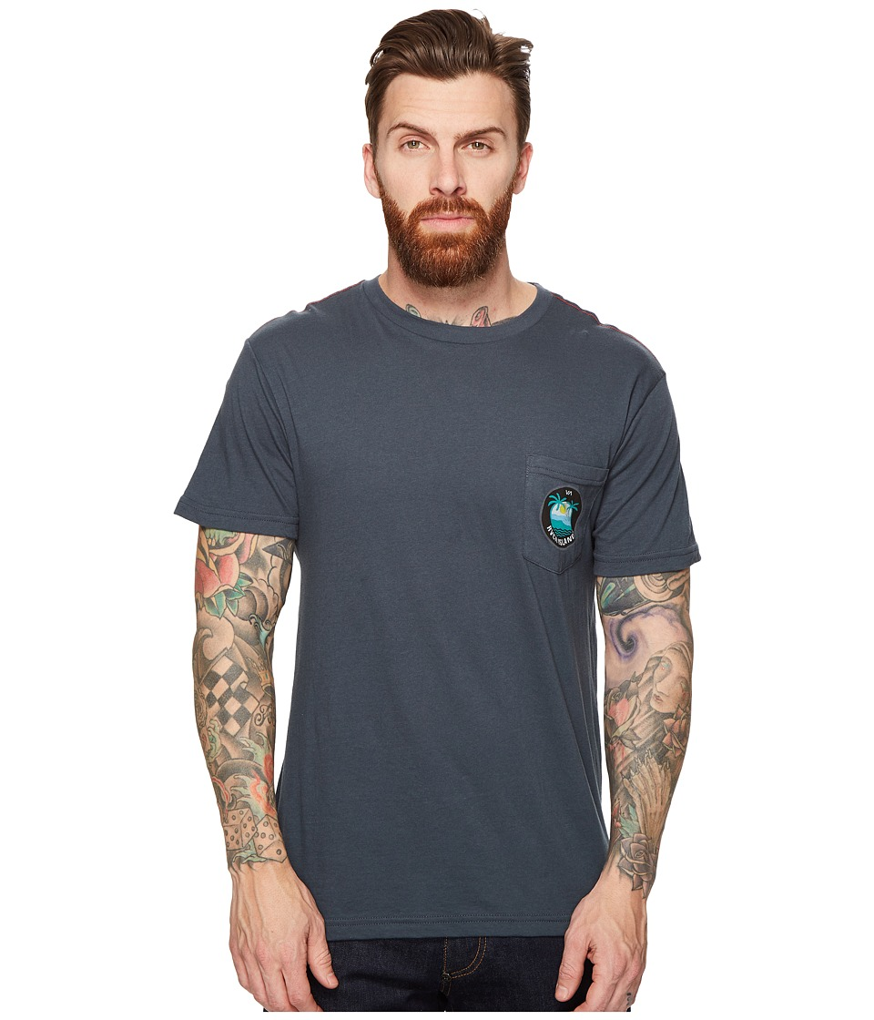 RVCA - Island Pocket Tee (Midnight) Men's T Shirt