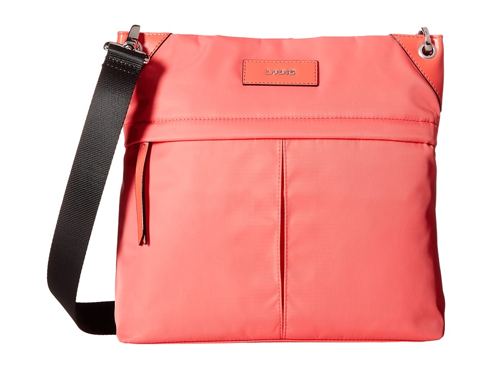 Lodis Accessories - Kate Nylon Caryn Travel Crossbody (Rose) Cross Body Handbags