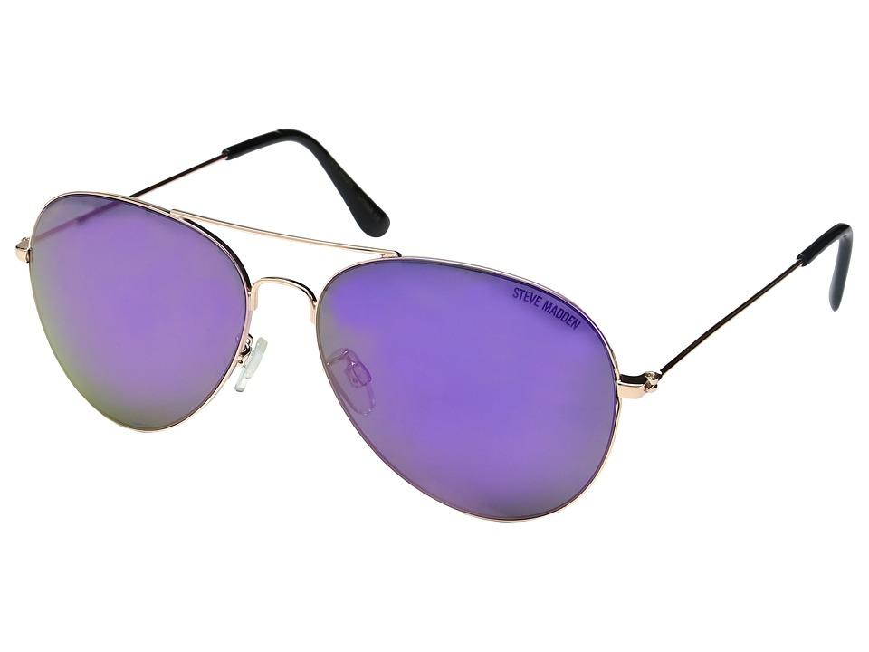 Steve Madden - Rylie (Rose Gold) Fashion Sunglasses