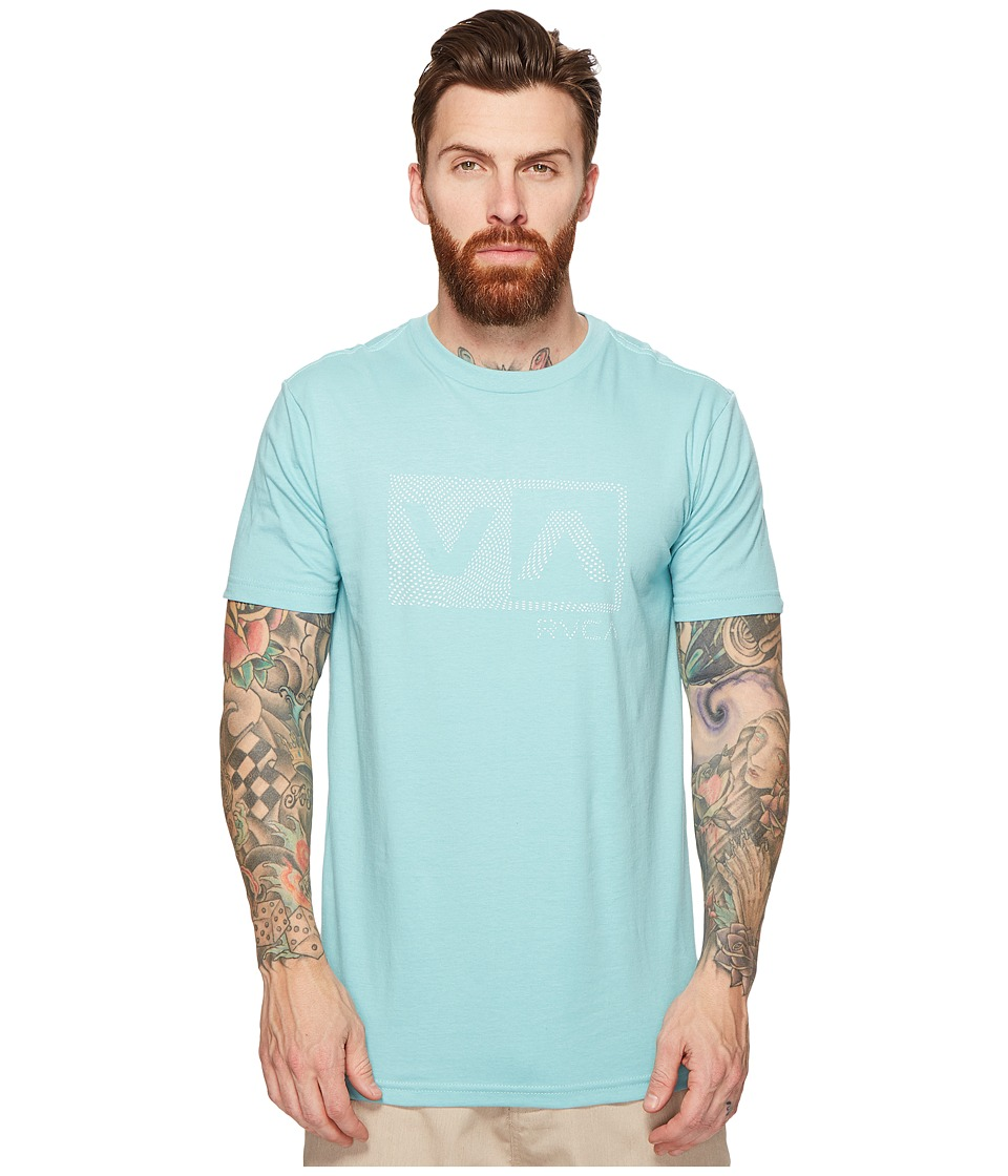 RVCA - Warped Dotty Tee (Nile Blue) Men's T Shirt