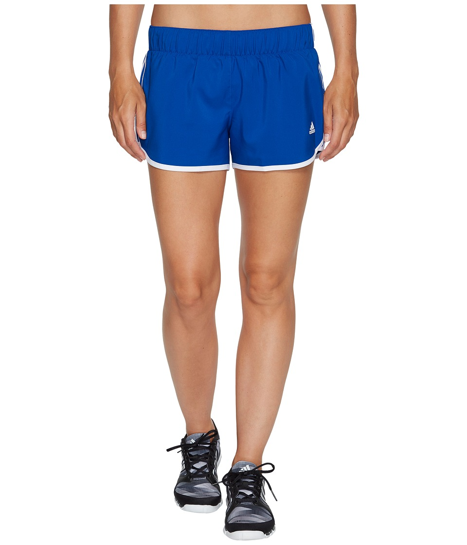 adidas - M10 Woven Shorts (Collegiate Royal/White) Women's Shorts