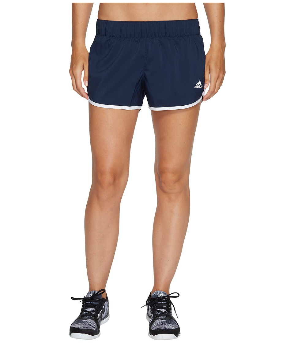 adidas - M10 Woven Shorts (Collegiate Navy/White) Women's Shorts