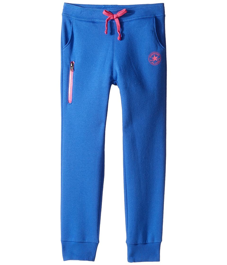 Converse Kids - Core Jogger (Toddler/Little Kids) (Oxygen Blue) Girl's Casual Pants