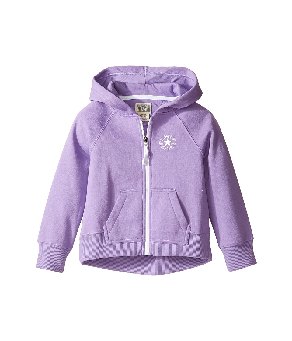 Converse Kids - Core Hoodie (Toddler/Little Kids) (Frozen Lilac) Girl's Sweatshirt