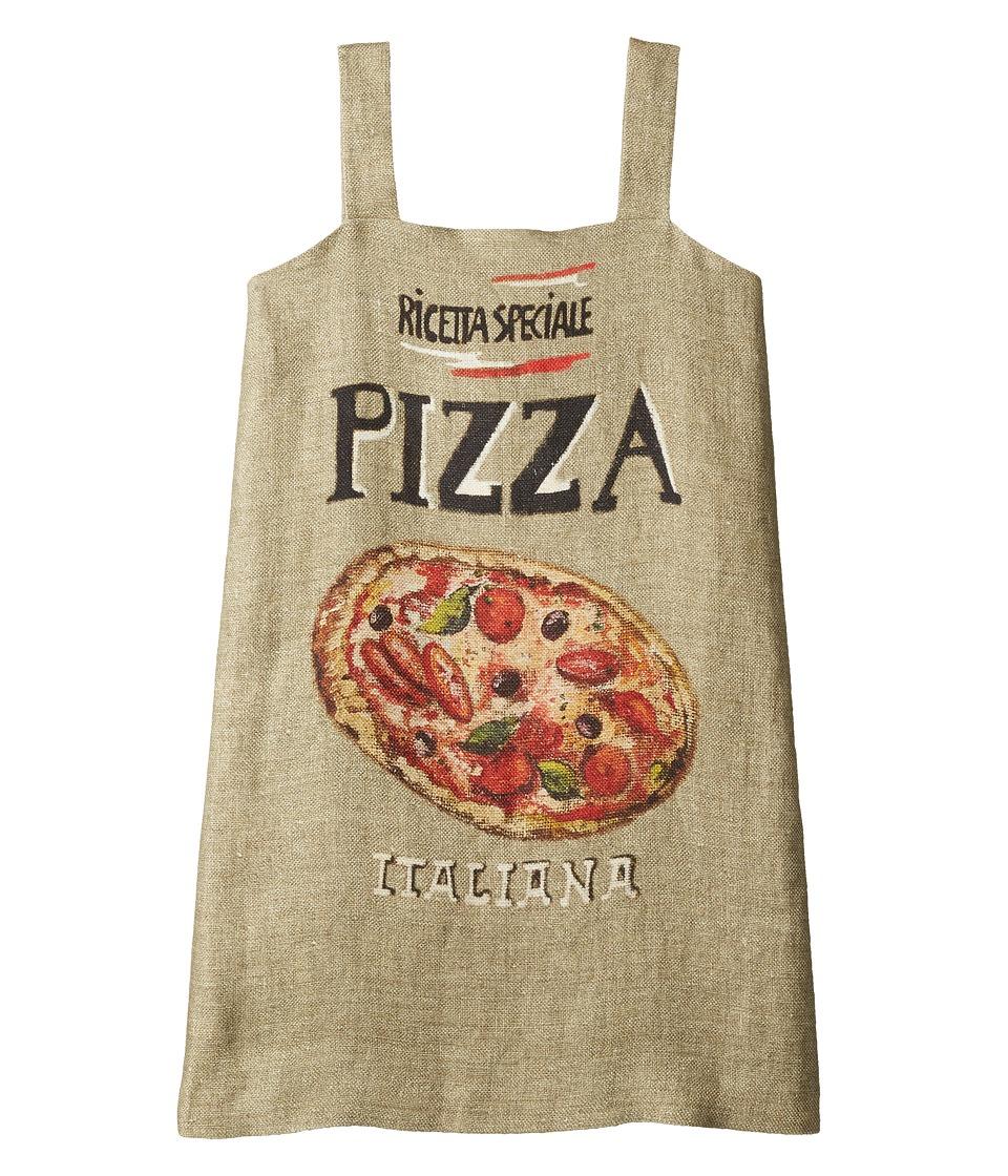 Dolce & Gabbana Kids - Pizza Stuoia Dress (Big Kids) (Pizza Print) Girl's Dress