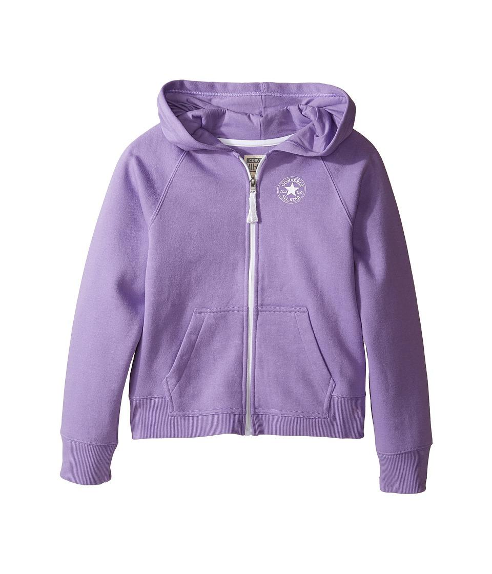 Converse Kids - Core Hoodie (Big Kids) (Frozen Lilac) Girl's Sweatshirt