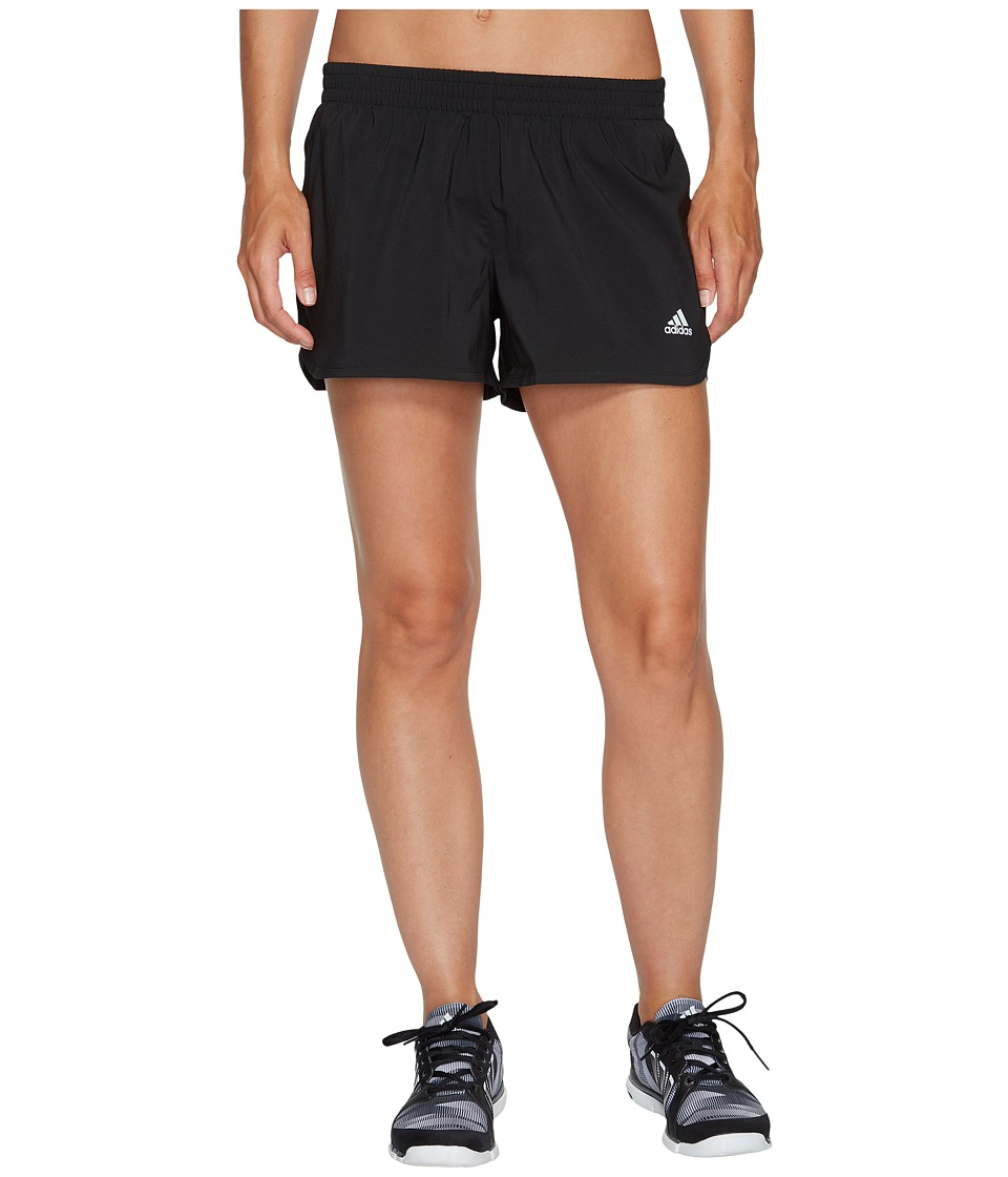 adidas - Run Shorts (Black) Women's Shorts