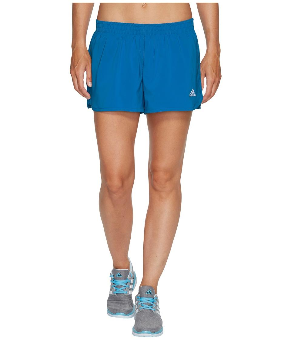 adidas - Run Shorts (Mystery Petrol) Women's Shorts