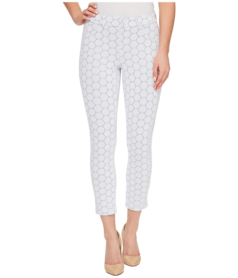 HUE Circlet Capris (White) Women