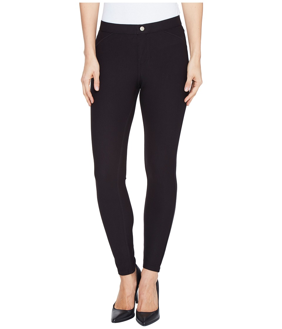 HUE - Twill Skimmer (Black) Women's Casual Pants