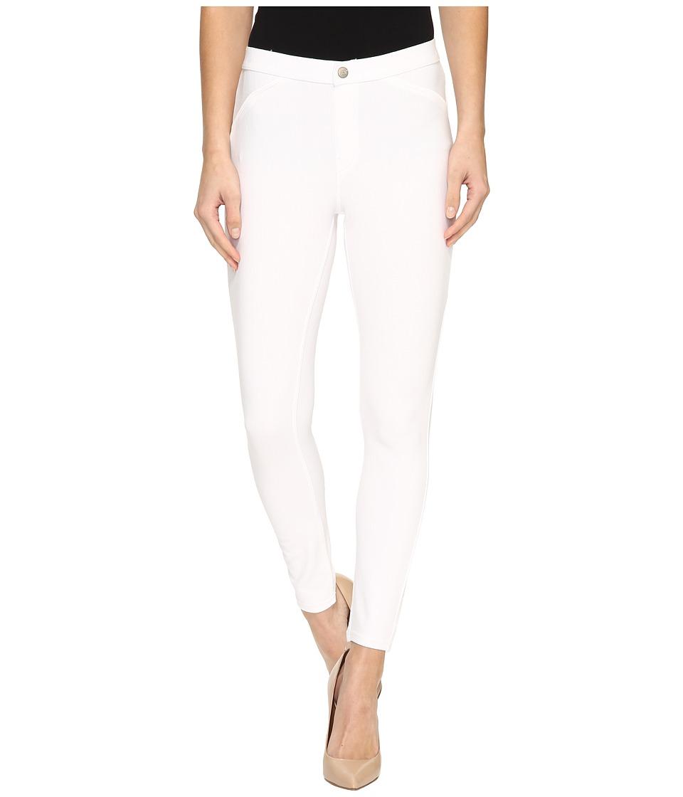 HUE - Twill Skimmer (White) Women's Casual Pants