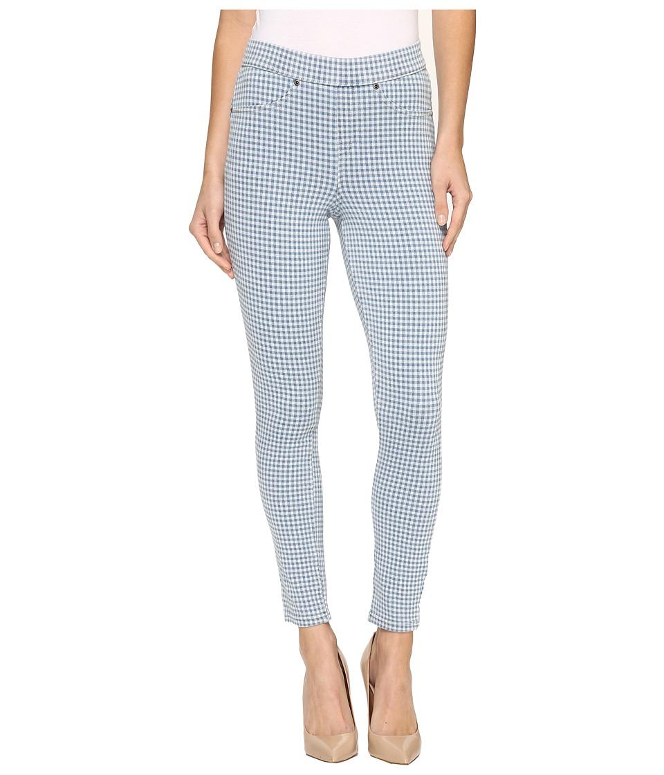 HUE - Gingham Denim Skimmer (Chambray) Women's Jeans