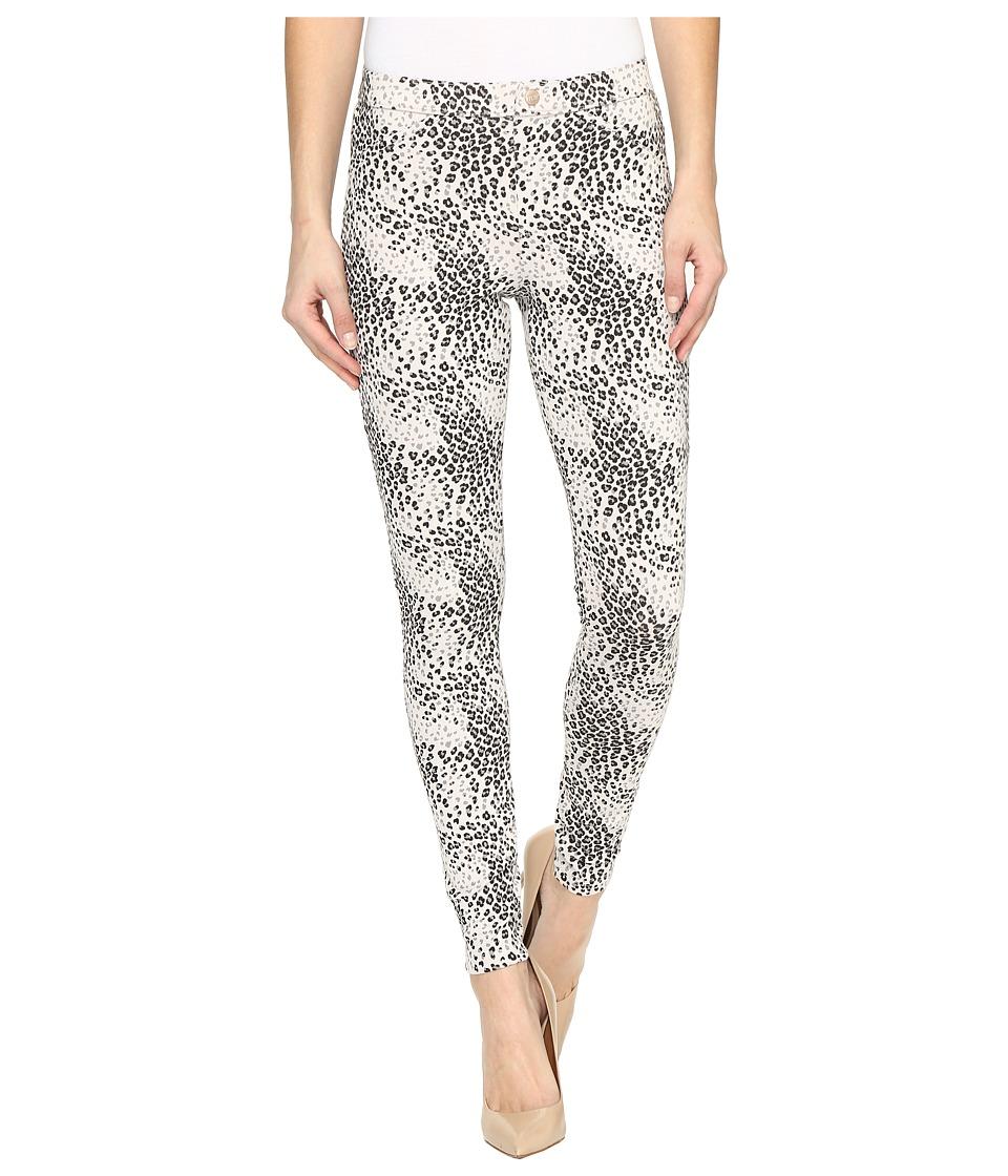 HUE - Leopard Twill Leggings (Wind Chime) Women's Casual Pants