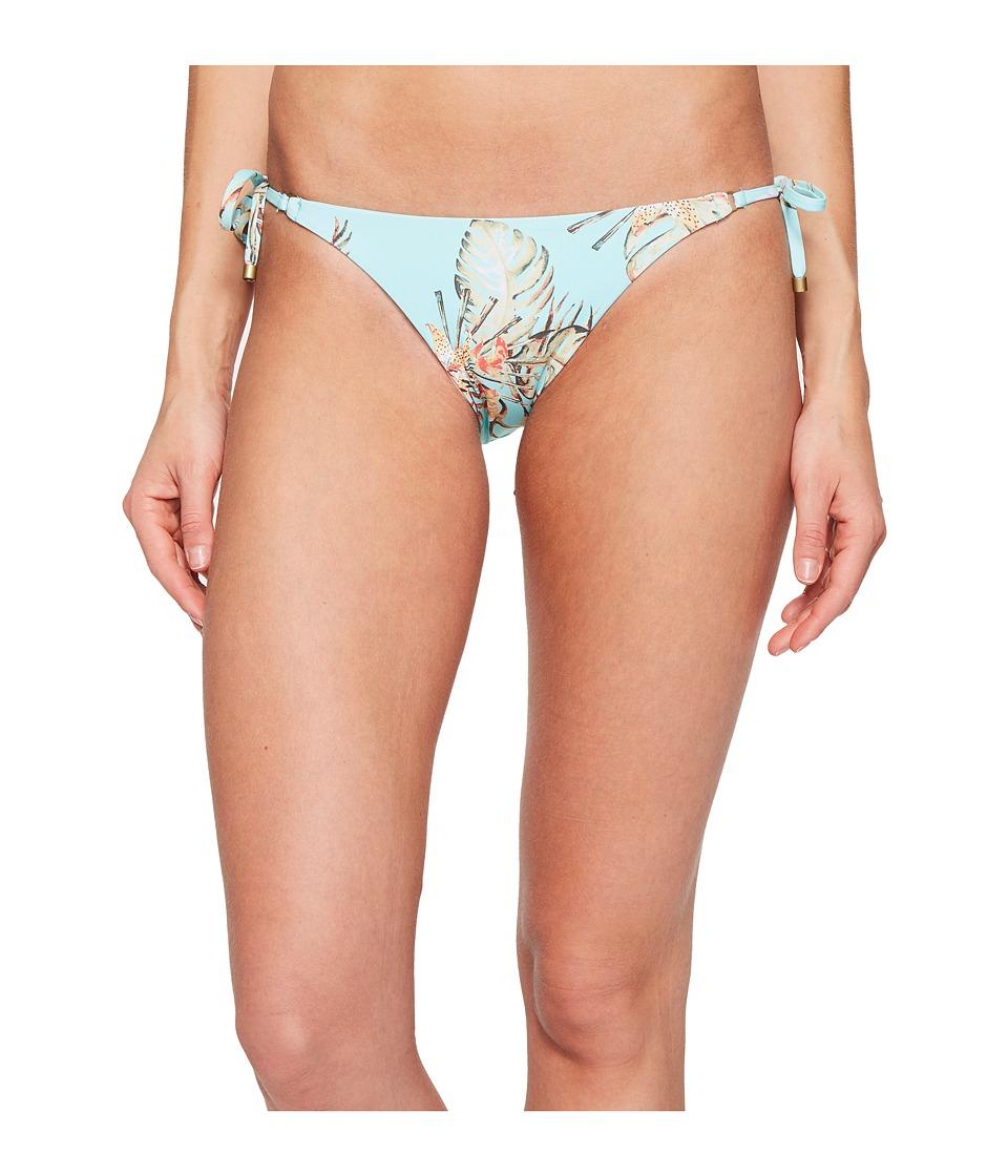 Vitamin A Swimwear - Tara Tie Side Bottom (Blue Lagoon) Women's Swimwear