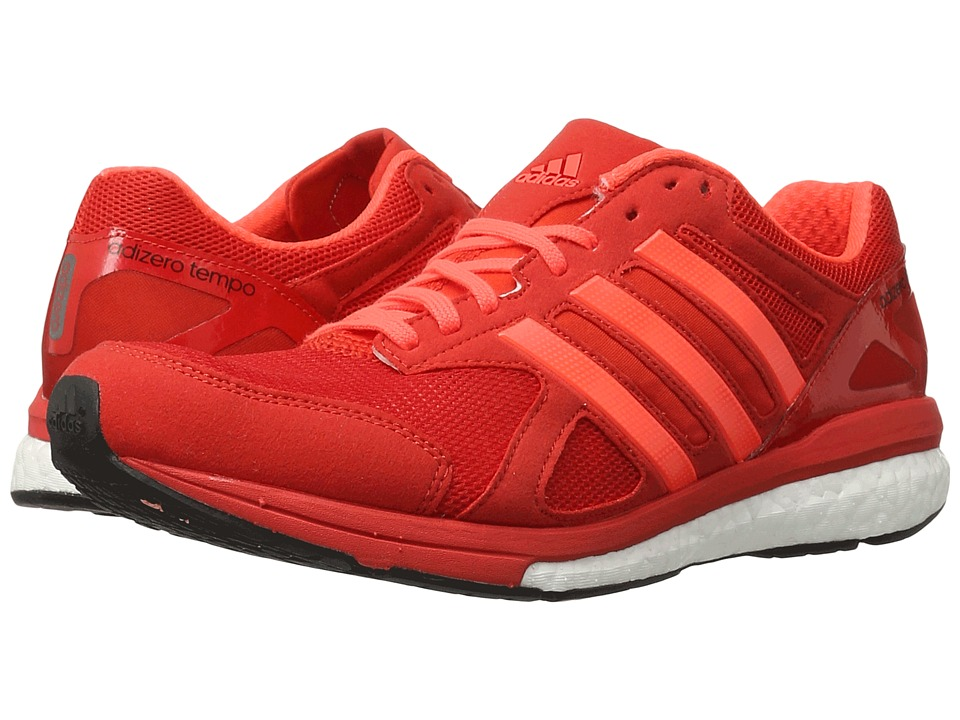 adidas - Adizero Tempo (Red/Solar Red/Black) Men's Shoes