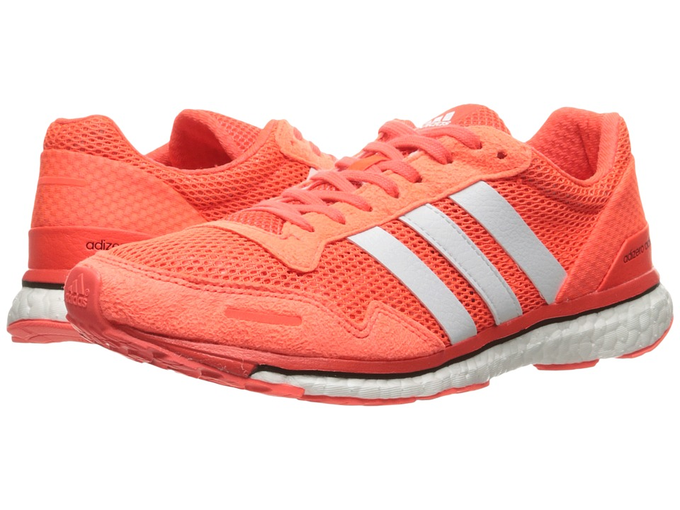 adidas Adizero Adios 3 (Solar Red/White/Black) Men