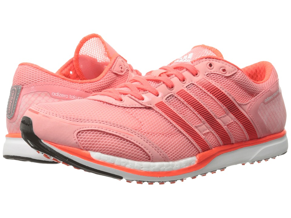 adidas - adiZero Takumi Sen 3 (Ray Pink/Black/Solar Red) Athletic Shoes
