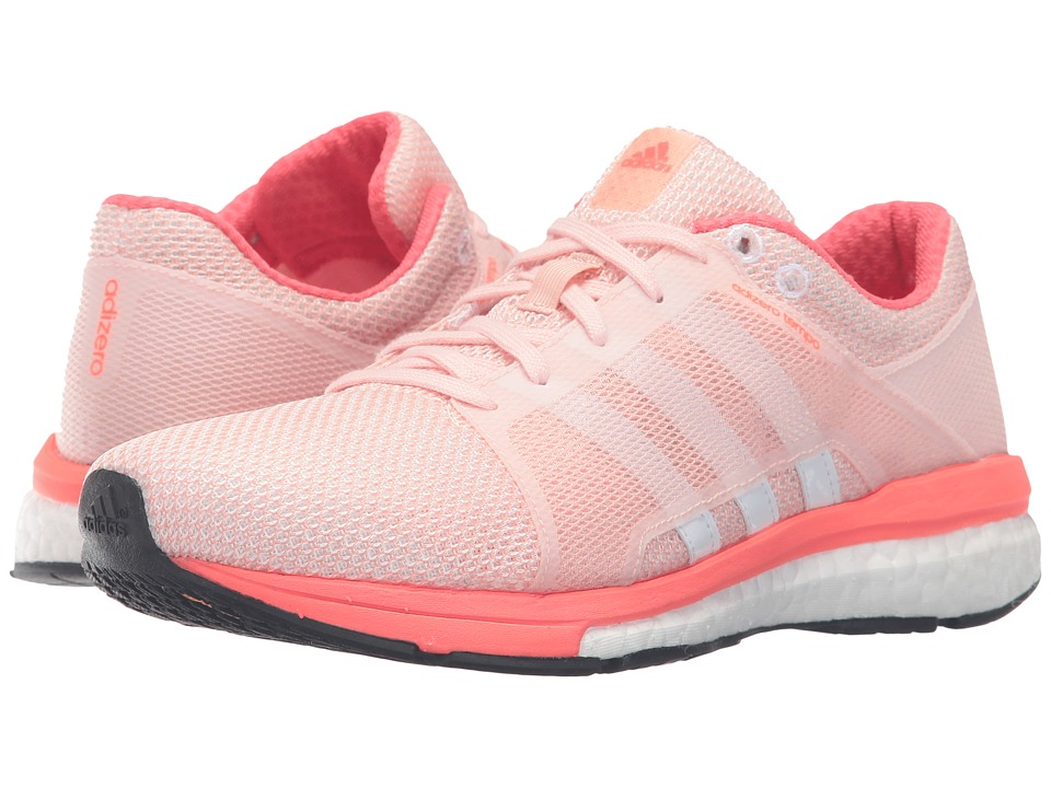 adidas - Adizero Tempo 8 SSF (Vapor Pink/White/Solar Red) Women's Shoes