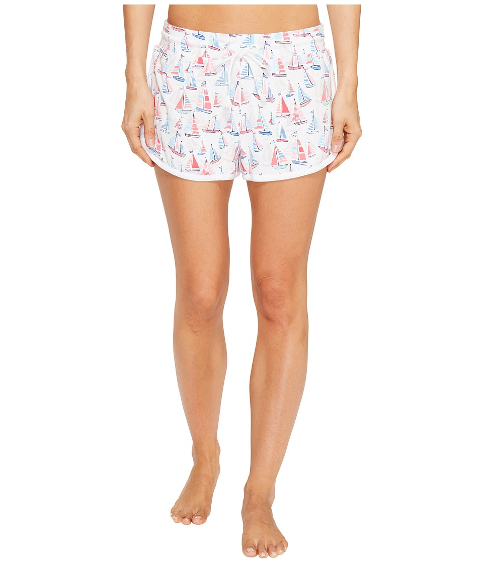 Jane & Bleecker - Sailing Club Jersey Shorts 3511350 (Sailing Club) Women's Pajama