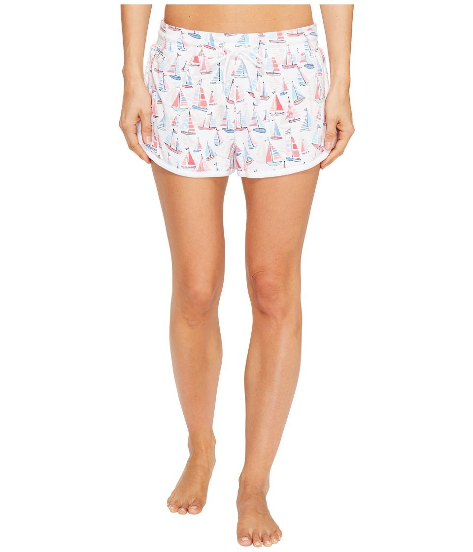 Jane & Bleecker - Sailing Club Jersey Shorts 3511350 (Sailing Club) Women's Pajama