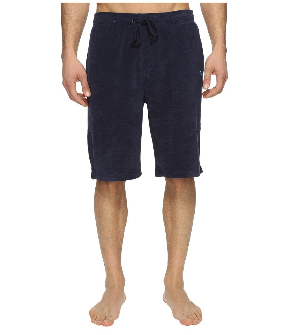 Tommy Bahama Knit Terry Jam Shorts (Ocean Deep) Men